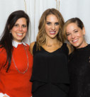 Glo Party 7 - Amy and Nicole Jump - Newtown Cosmetic Dentist Nicole M Armour, DMD - Make Your Smile Glo Event